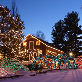Holiday Lights Workshop in Peddlers Village