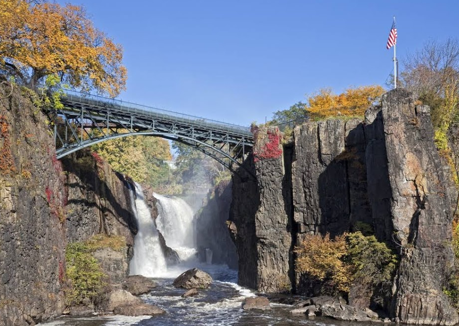 Fall Colors and Waterfalls in Paterson, NJ