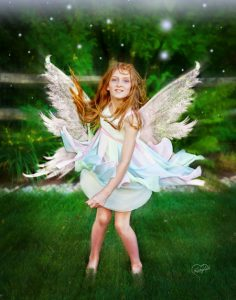fairygirl with angel wings